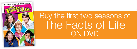 The Facts Of Life on DVD - Seasons 1 & 2